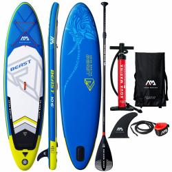 Set paddleboard a visací zámek AQUA MARINA-Beast 10 6x32x6 - do 140 kg