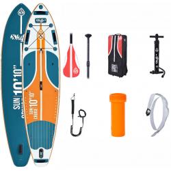 Set paddleboard a padlo SKIFFO-Sun Cruise 10 10x32x6- do 145Kg