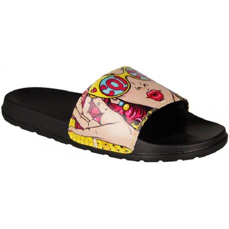 Dámska obuv k bazénu (plážová obuv) COQUI-Cleo black/wow