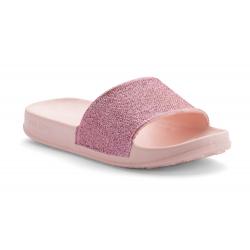Detská obuv k bazénu (plážová obuv) COQUI-Tora candy pink glitter