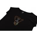Dámske turistické tričko s krátkym rukávom HANNAH-ABBLE-anthracite -