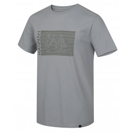 Pánské turistické tričko s krátkým rukávem HANNAH-CASTOR-high rise