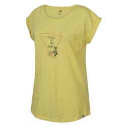 Dámske turistické tričko s krátkym rukávom HANNAH-ABBLE-limelight