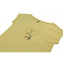Dámske turistické tričko s krátkym rukávom HANNAH-ABBLE-limelight -