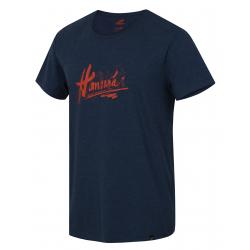 Pánské turistické tričko s krátkým rukávem HANNAH-GARBO-Majolica mel