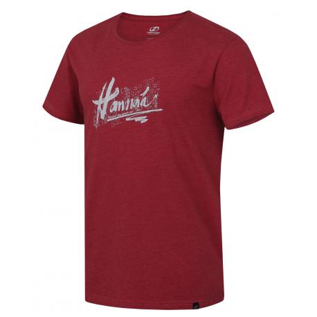 Pánske turistické tričko s krátkym rukávom HANNAH-GARBO-pepper mel
