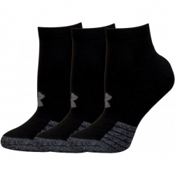 Ponožky UNDER ARMOUR-UA Heatgear Locut -BLK-3 pack