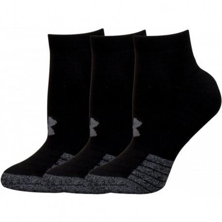 Ponožky UNDER ARMOR-UA Heatgear Locut -BLK-3 bal