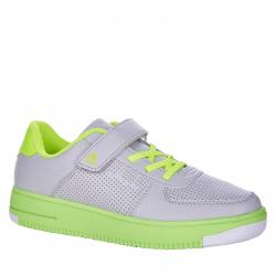 Detská rekreačná obuv AUTHORITY KIDS-Abundo grey/neon green