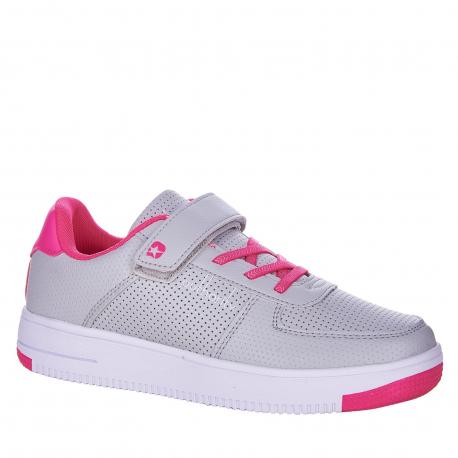 Detská rekreačná obuv AUTHORITY KIDS-Abundo grey/pink