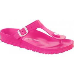 Dámské dřeváky (módní obuv) BIRKENSTOCK-Gizeh EVA Neon Pink