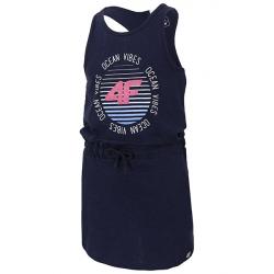 Dívčí šaty 4F-GIRLS DRESS-HJL20-JSUDD002A-31S