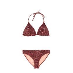 Dámské plavky Brunotti-Lollypop Women Bikini-0256 Auburn Red