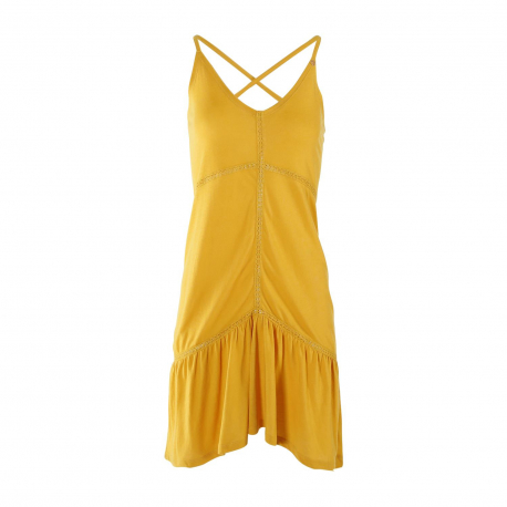 Dámske šaty BRUNOTTI-Fahima Women Dress-0159 Indian Gold