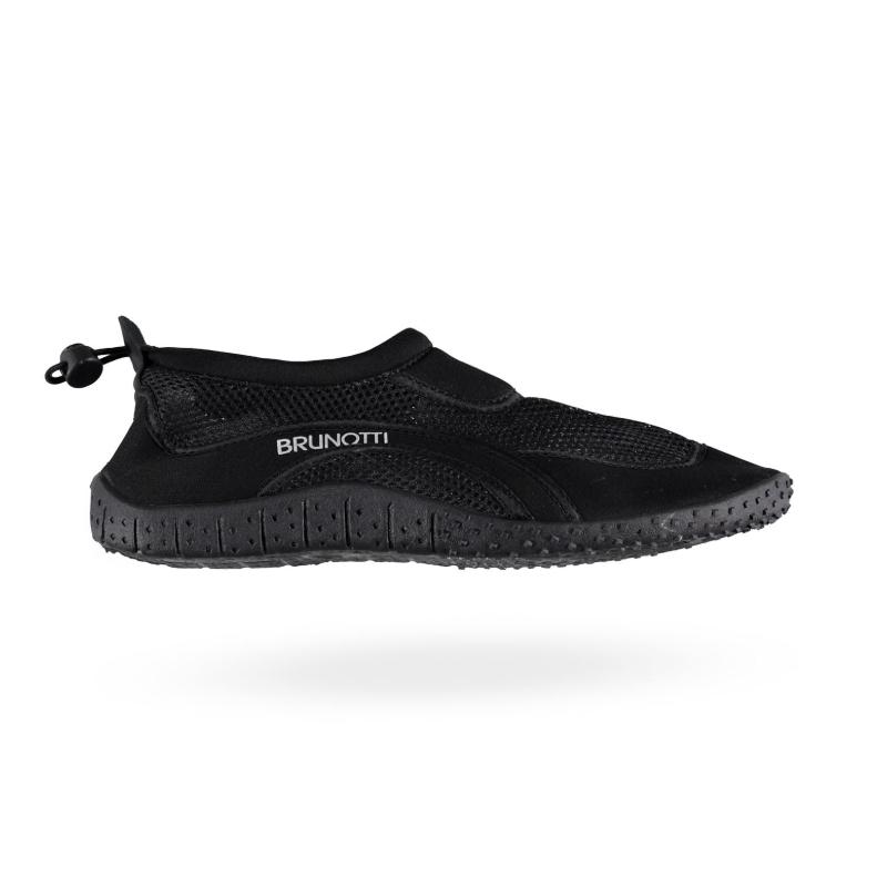 Obuv do vody BRUNOTTI-Aqua Shoe 36-46 Uni Shoe Sport-099 Černá -