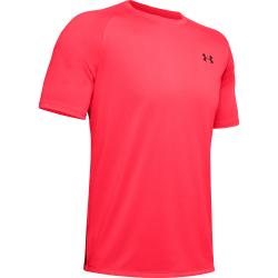 Pánske tréningové tričko s krátkym rukávom UNDER ARMOUR-UA Tech 2.0 SS Tee-RED