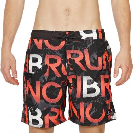 Pánske plavky BRUNOTTI-Frye-ZIP Mens Shorts-097 Titanium