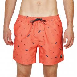 Pánské plavky Brunotti-Tasker-Mini-AO Mens Shorts-0037 Bright Coral