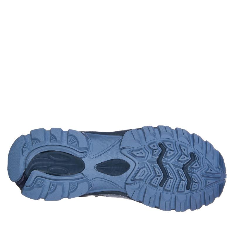 Pánska turistická obuv nízka EVERETT-Nebula grey -