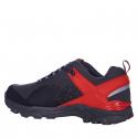 Pánska turistická obuv nízka EVERETT-Xred black -