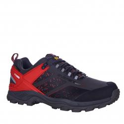 Pánska turistická obuv nízka EVERETT-Xred black