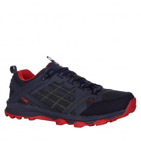 Pánska turistická obuv nízka EVERETT-Weber black/red
