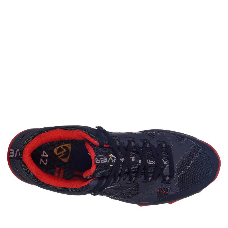 Pánska turistická obuv nízka EVERETT-Weber black/red -