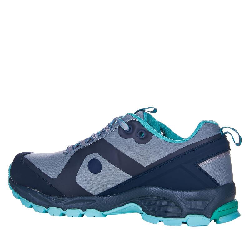 Dámska turistická obuv nízka EVERETT-Conara grey/mint -