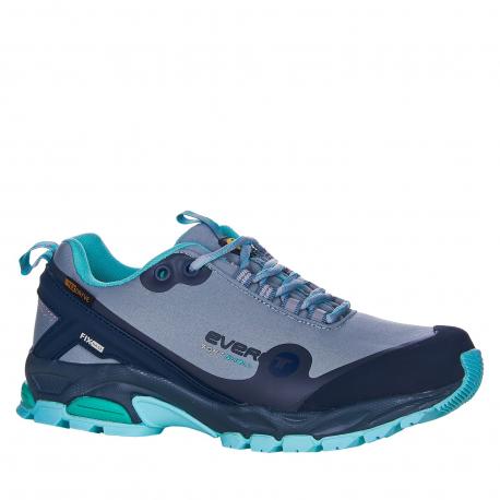 Dámska turistická obuv nízka EVERETT-Conara grey/mint