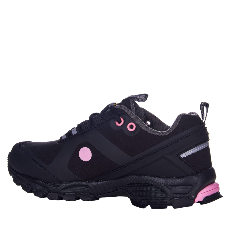 Dámska turistická obuv nízka EVERETT-Conara black/pink -