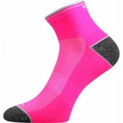 Dámske bežecké ponožky VOXX-Ray-neon pink