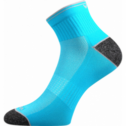 Pánské běžecké ponožky VOXX-Ray-neon tyrkys