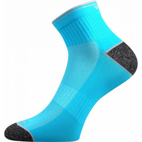 Pánske bežecké ponožky VOXX-Ray-neon tyrkys