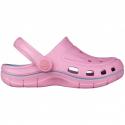Detské kroksy (rekreačná obuv) COQUI-Jumper pink/candy blue -