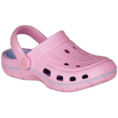 Dětské kroksy (rekreační obuv) COQUI-Jumper pink / candy blue