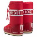 Dámská zimní obuv vysoká MOON BOOT-MBNYLON red -