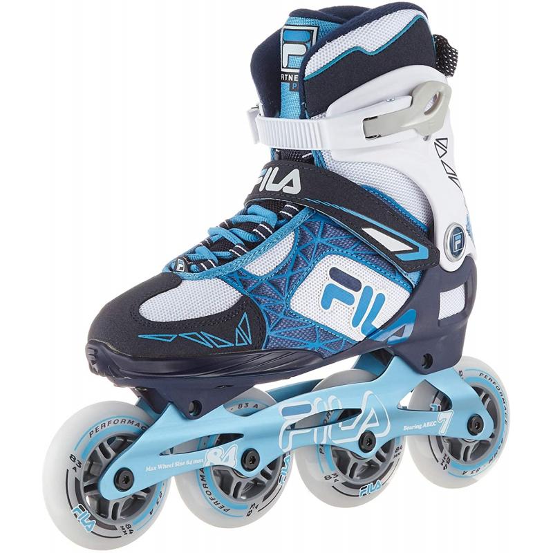 Dámske kolieskové korčule FILA SKATES-LEGACY PRO 84 LADY BL/WHT/LBL -