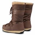 Dámská zimní obuv vysoká MOON BOOT-MBMONACOWOOL WP mud -
