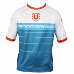 Cyklistický dres s krátkym rukávom MONDRAKER-Enduro/Trail Jersey short, petrol/white/red
