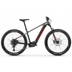 Elektro bicykel MONDRAKER-MONDRAKER 010.20211 Prime 29, black/nimbus grey/flame red 20