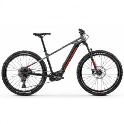 Elektro bicykel MONDRAKER-MONDRAKER 010.20211 Prime 29, black/nimbus grey/flame red