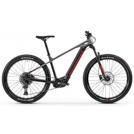 Horský elektrobicykel MONDRAKER-Prime 29, black/nimbus grey/flame red 2020
