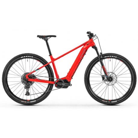Horský elektrobicykel MONDRAKER-Thundra 29, flame red/light blue 2020
