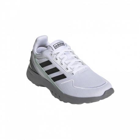 Juniorská rekreační obuv ADIDAS-Nebula Ted ftwwht / cblack / grntnt