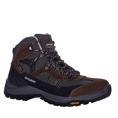 Pánská turistická obuv střední Grisport-Corato dark grey