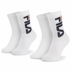 Sportovní ponožky FILA-F9598 SOCKS 2-PACK-300-WHITE