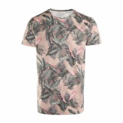 Pánské triko s krátkým rukávem Brunotti-Jason-Leaf Mens T-shirt-0036-Faded Pink
