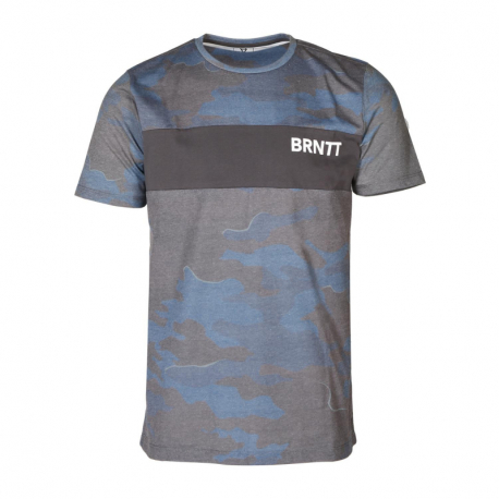 Pánské triko s krátkým rukávem Brunotti-Maxwell Mens T-shirt-0532-Space Blue