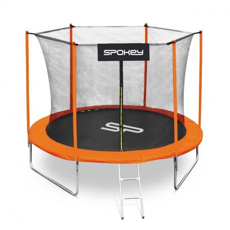 Trampolína SPOKEY-JUMPER II oranžová, 305 cm