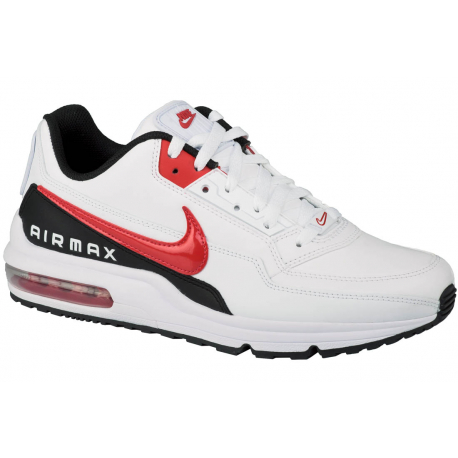 Pánská vycházková obuv NIKE-Air Max LTD 3 white / university red / black authentic